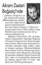 11/03/2014- Aydınlık Gazetesi